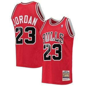 NBA Chicago Bulls #23 Michael Jordan Jersey Red